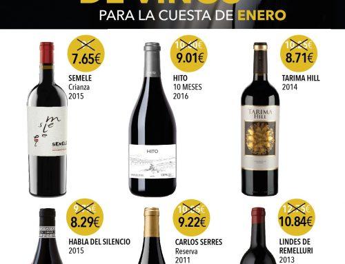 Vinos Casa Santi propone su mejor selección de vinos para afrontar la cuesta de enero
